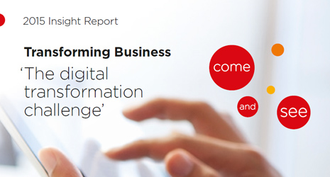 transforming business report
